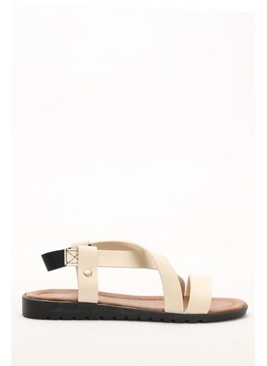 Shoes1441 Sandalet Bej